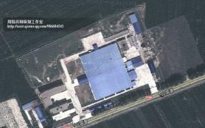 工厂的全景平面图,大家看出这个楼房建筑的一些特型了没有?