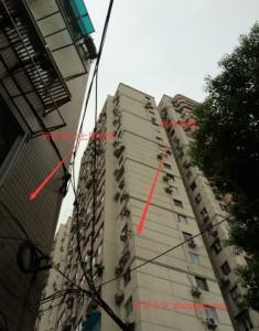 周围的楼群与所居住楼对比3